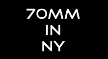 70mm in NY