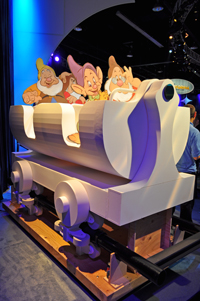 dwarf roller coaster car