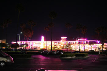 Marquee On Newport Center Drive 2 Edwards Cinema Complex As Seen From Fashion Island