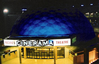 70mm in Los Angeles cinerama dome